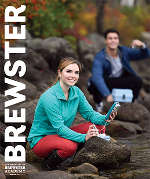 Fall 2015 Brewster Magazine cover