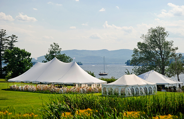 Wedding at Brewster Academy